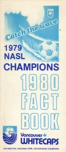 1980 Vancouver Whitecaps Media Guide