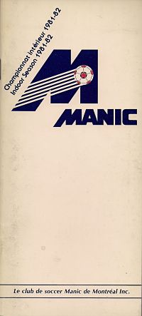 1981-82 Montreal Manic Media Guide