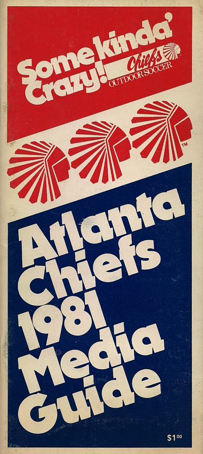1981 Atlanta Chiefs Media Guide