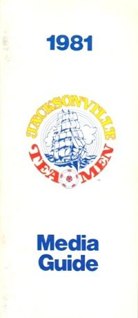 1981 Jacksonville Tea Men Media Guide