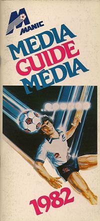 1982 Montreal Manic Media Guide