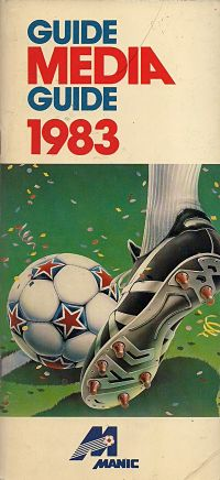 1983 Montreal Manic Media Guide