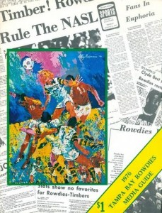 1976 Tampa Bay Rowdies Media Guide