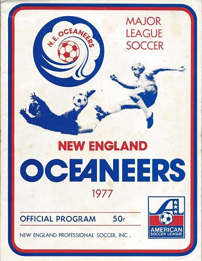 1977 New England Oceaneers Program
