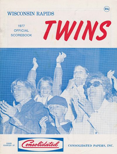 1977 Wisconsin Rapids Twins Program