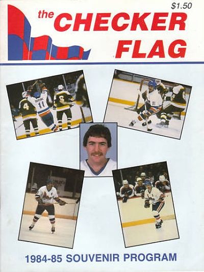 1984-85 Indianapolis Checkers Program