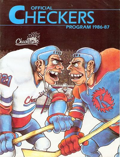 1986-87 Indianapolis Checkers Program