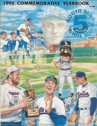 1992 South Bend White Sox Yearbook