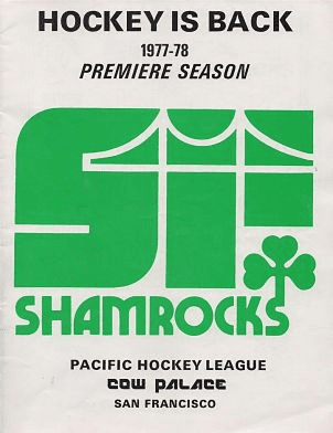 1977-78 San Francisco Shamrocks Program