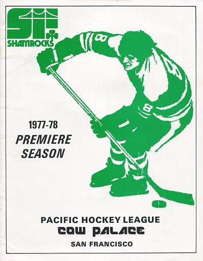 1978 San Francisco Shamrocks Program