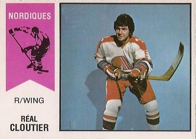 1974 O-Pee-Chee Real Cloutier