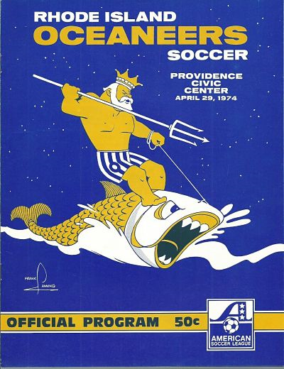 1974 Rhode Island Oceaneers Program