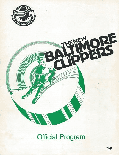 1979 Baltimore Clippers Program