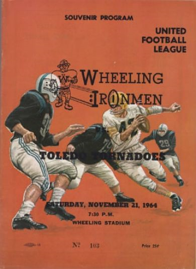 1964 Wheeling Ironmen Program
