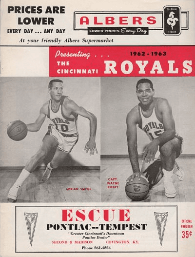Wayne Embry Cincinnati Royals