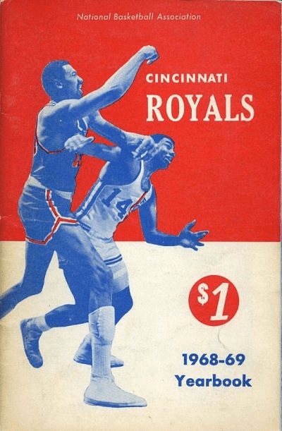 1968-69 Cincinnati Royals Media Guide