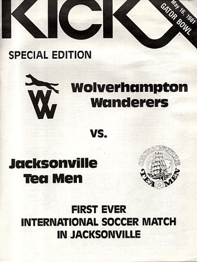 1981 Jacksonville Tea Men Program