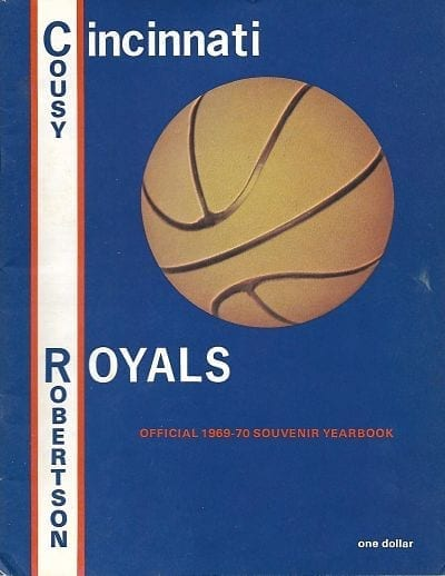 1969-70 Cincinnati Royals Yearbook