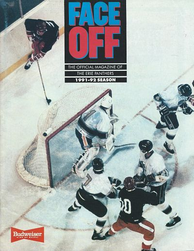 1992 Erie Panthers Program