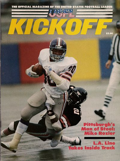 Mike Rozier Pittsburgh Maulers