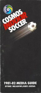 1981-82 New York Cosmos Media Guide