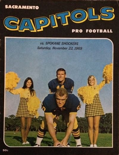 1969 Sacramento Capitols Program