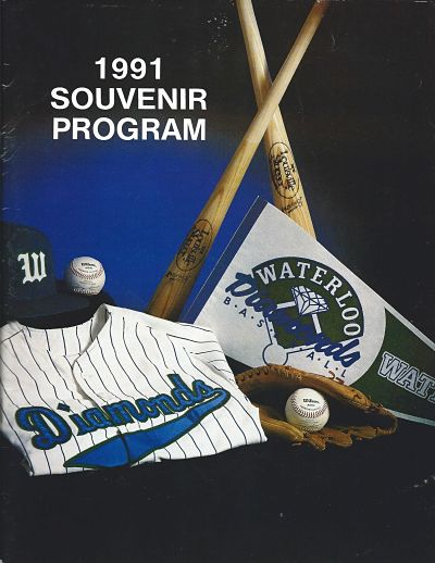 1991 Waterloo Diamonds Program