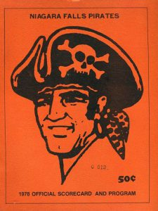 1978 Niagara Falls Pirates Program
