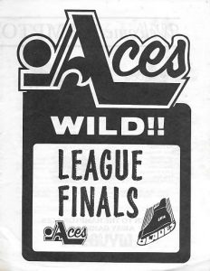 1979 Hampton Aces Program