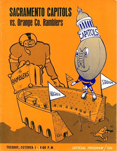 1968 Sacramento Capitols Program