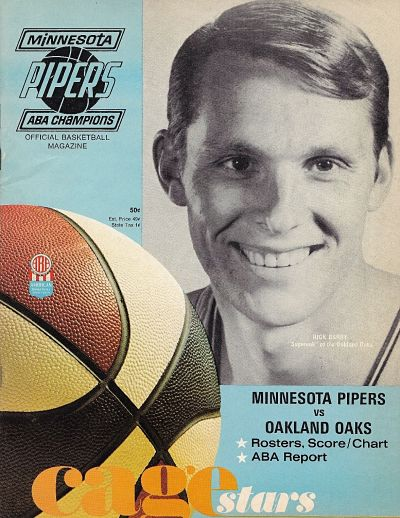 1968-68 Minnesota Pipers Program