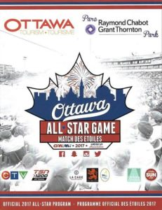2017 Can-Am League All-Star Game Program