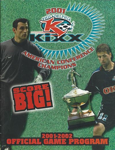 2001 Philadelphia Kixx Program