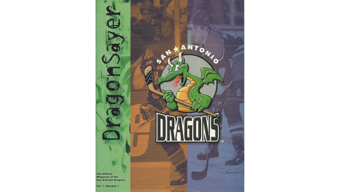 1996 1998 San Antonio Dragons Fun While It Lasted