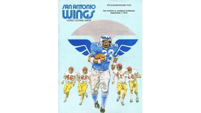 1975 San Antonio Wings Fun While It Lasted